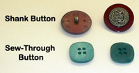types of buttons
