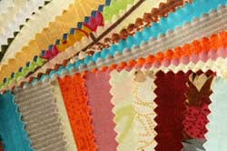 samples of sewing fabric