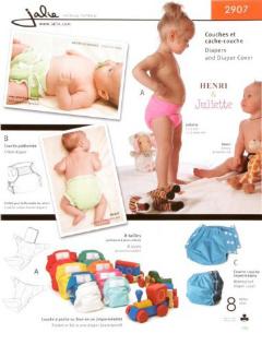 Contour Diaper Pattern