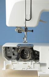 Sewing Machine Bobbin Area