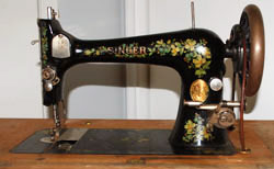 Antique Treadle Sewing Machine Unit