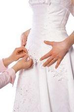 sewing for a bride